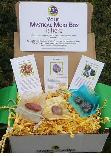 Mystical Mojo Box – Crystal Mojo Box – September 2016 Review