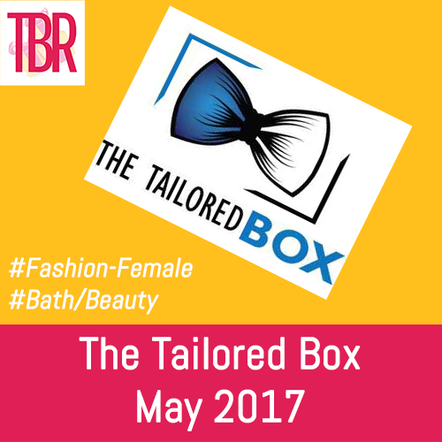 The Tailored Box Review + Coupon – May 2017