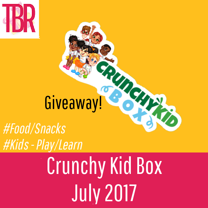 Crunchy Kid Box Review + GIVEAWAY – July 2017